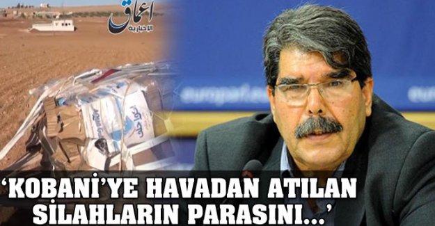 'Kobani'ye havadan atılan silahların parasını...'