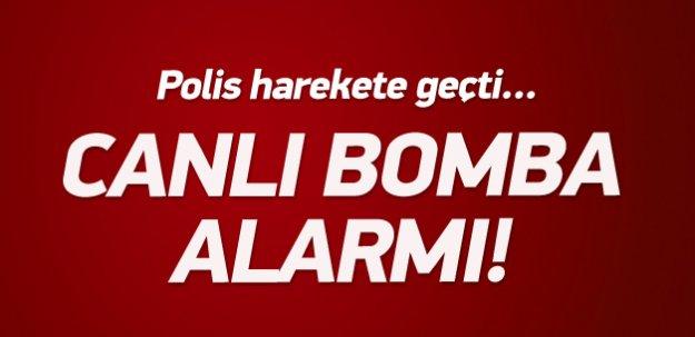 Kocaeli'de 'canlı bomba' ihbarı!