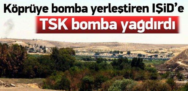 Köprüye bomba yerleştiren IŞİD'e operasyon