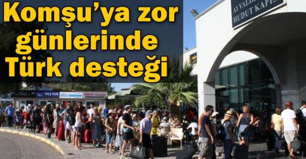 Krizdeki komşuya Türk turist akını