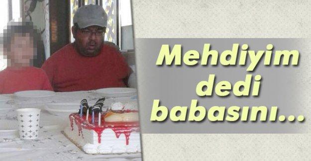Mehdiyim dedi babasını öldürdü