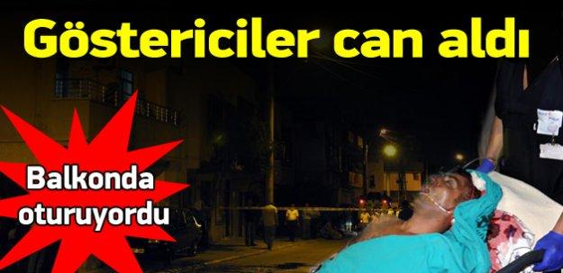 Mersin'de göstericilerin attığı fişek can aldı