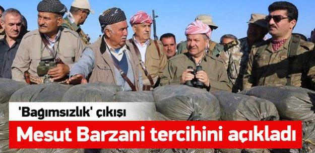 Mesut Barzani'den 'bağımsızlık' çıkışı