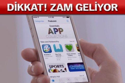 Ne İndirecekseniz Bugün İndirin Apple Türkiye'de yine zam yaptı!
