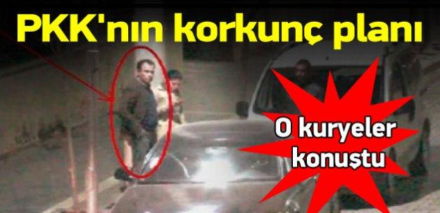 O kuryeler konuştu! İşte PKK'nın korkunç planı