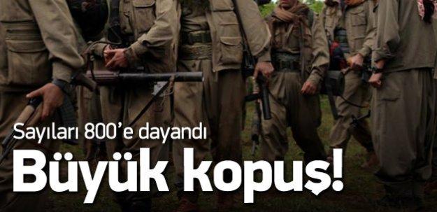 PKK'dan büyük kopuş: Sayı 800'e dayandı