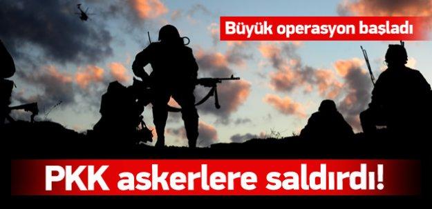 PKK ile asker arasında çatışma!
