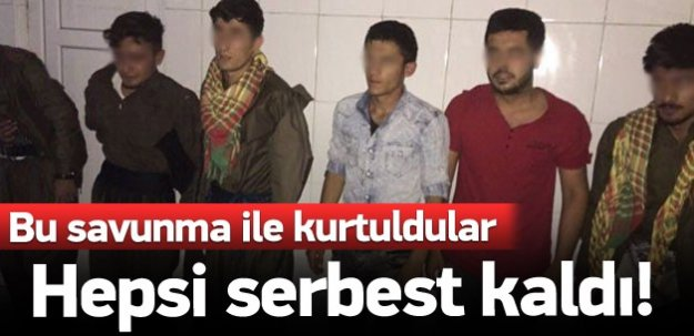 PKK'lı diye yakalanan 6 kişi serbest kaldı!