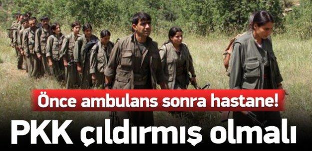 PKK'lı teröristler çıldırmış olmalı!