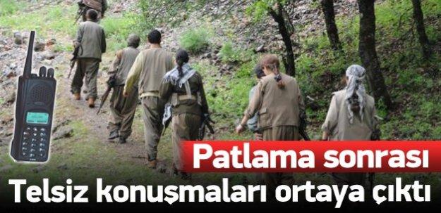 PKK'lıların telsiz konuşmaları şoka soktu!