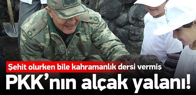PKK'nın alçak yalanı
