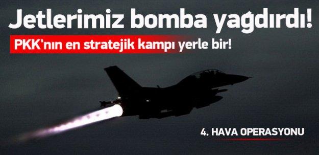 PKK'nın en stratejik kampları bombalandı