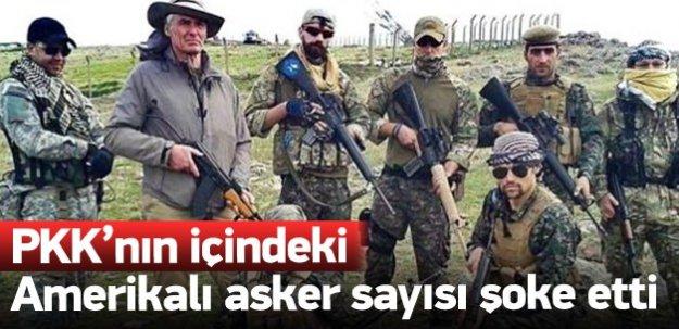 PKK'nın içinde 4 bin Amerikalı var