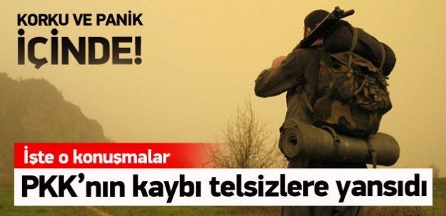 PKK'nın paniği telsizlere yansıdı