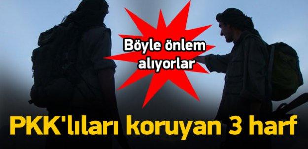 PKK'yı hava saldırılarından koruyan 3 harf