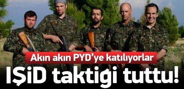 PYD IŞİD'in yolunda