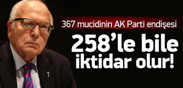 Sabih Kanadoğlu: AK Parti tek başına iktidar olur