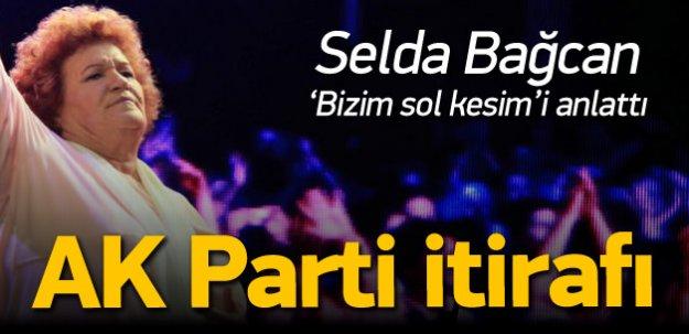 Selda Bağcan soldaki mahalle baskısını anlattı