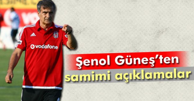 Şenol Güneş: Teknik direktörlüğü Beşiktaş'ta bırakabilirim