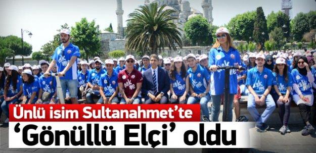 Sinan Akçıl gönüllü turizm elçisi oldu