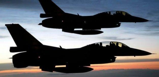Şırnak'tan havalanan F-16'lar Kandil'i bombaladı