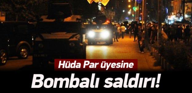 Şırnak'ta Hüda Par üyesine bombalı saldırı