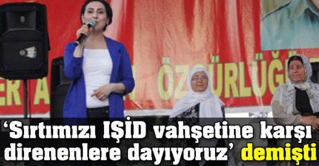 Sırtımızı IŞİD vahşetine karşı direnenlere dayıyoruz' demişti