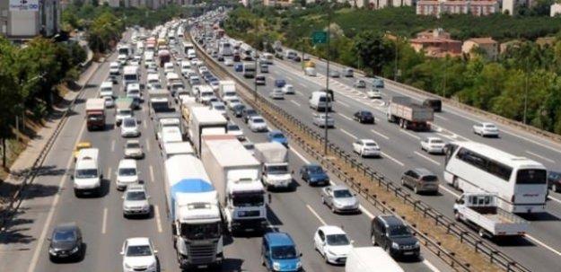 Tatil dönüşü trafiği için yoğun önlem