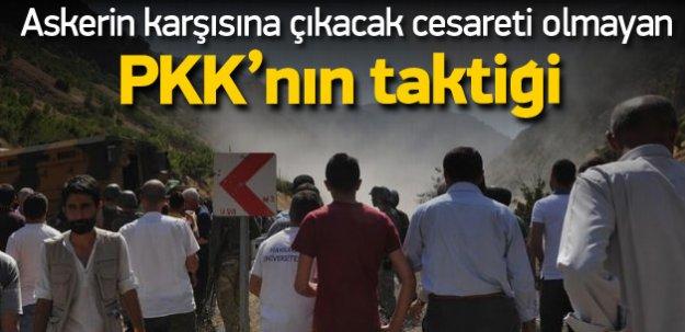 Terör örgütü PKK 4 koldan saldırı ve eyleme geçti