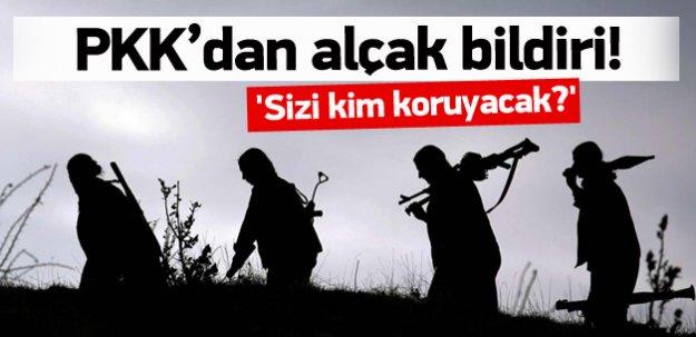 Terör örgütü PKK'dan alçak tehdit!