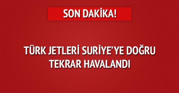 Türk jetleri yine havalandı