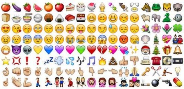 Türkçe'de en çok kullanılan emoji güler yüz
