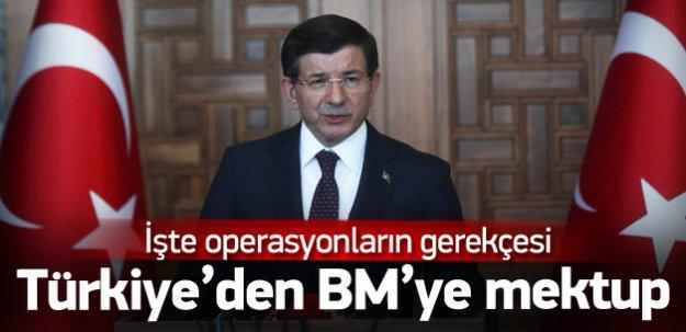 Türkiye DAEŞ operasyonunu BM'ye bildirdi