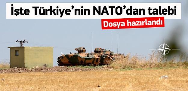 Türkiye'nin NATO'dan talebi