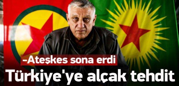 Türkiye'ye alçak tehdit