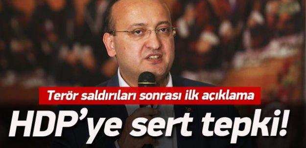 Yalçın Akdoğan'dan çok sert tepki