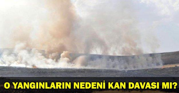Yangınları 'Kan davalılar çıkarıyor' iddiası
