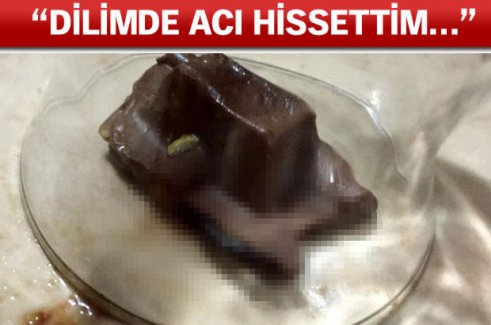 Yediği Çikolatan Çıkan Dehşete Düşürdü !