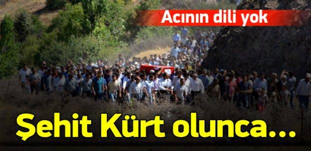 4 bin kişi, şehidi Kürtçe ağıtlarla uğurladı