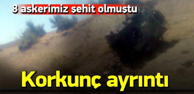 8 askerin şehit düştüğü saldırıda korkunç ayrıntı