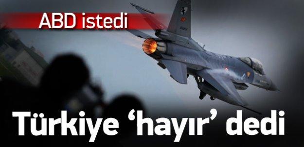 ABD koordinat istedi, Türkiye 'hayır' dedi!