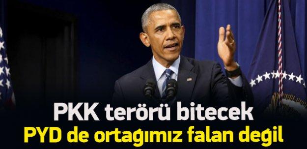 ABD: Önce PKK terörü durmalı