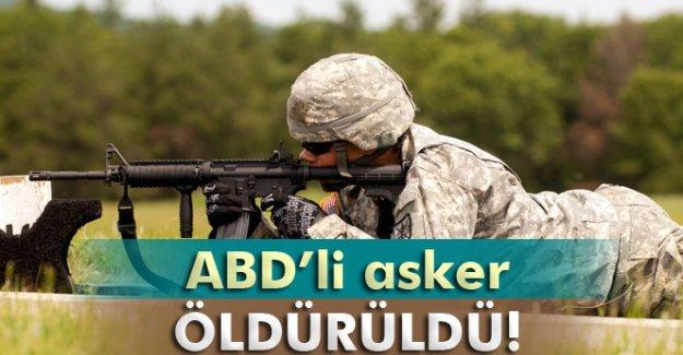 ABD'li NATO askeri Afganistan'da öldürüldü