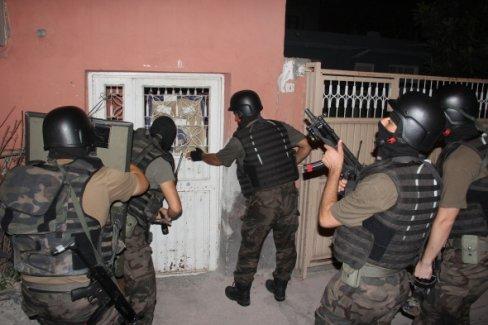 Adana'da şafak vakti IŞİD operasyonu