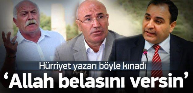 Ahmet Hakan: Allah belasını versin