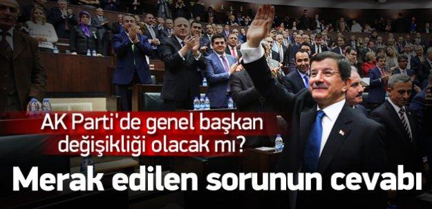 AK Parti'de genel başkan değişikliği olacak mı?