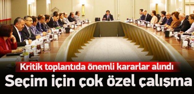 AK Parti'nin seçim hamlesi