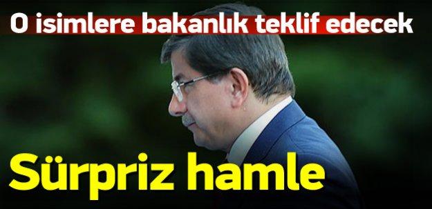 AK Parti o isimlere bakanlık teklif edecek