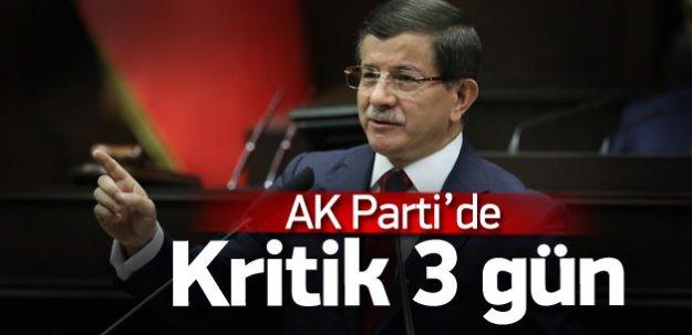 Ak Parti'de kritik 3 gün: Parti vitrini değişecek
