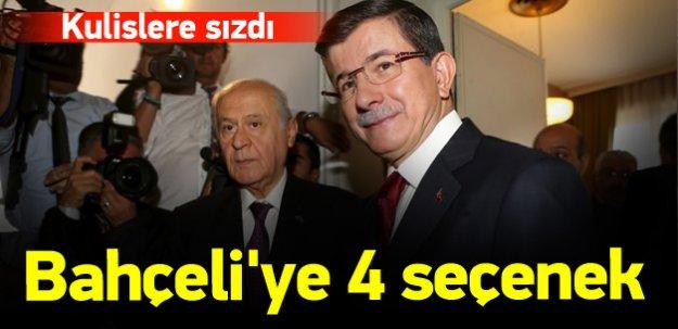 Ak Parti'den Bahçeli'ye 4 seçenek!